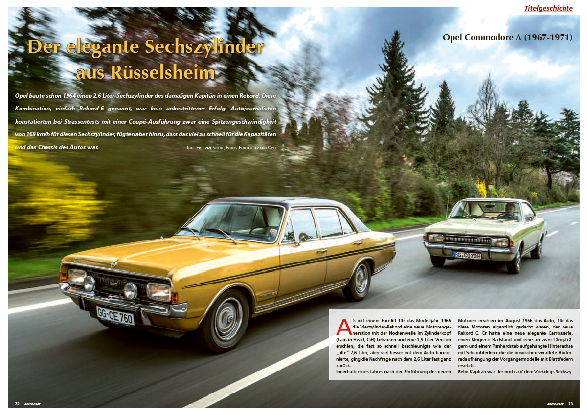 Coverstory: Opel Commodore A (1967-1971)