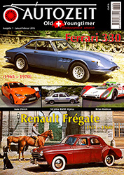 AutoZeit - Die Oldtimer Zeitschrift der Schweiz - Ausgabe 01-2016