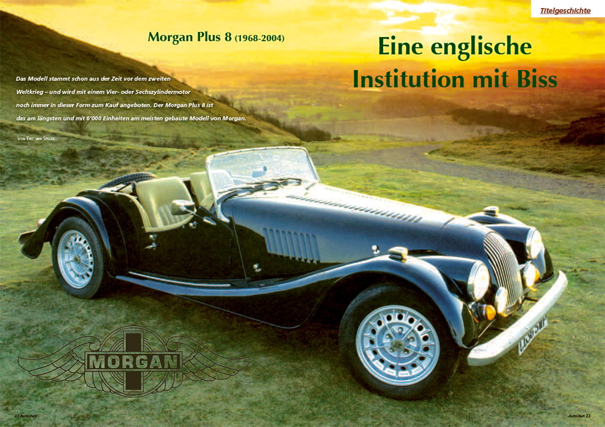 Coverstory: Morgan Plus 8 (1968-2004)